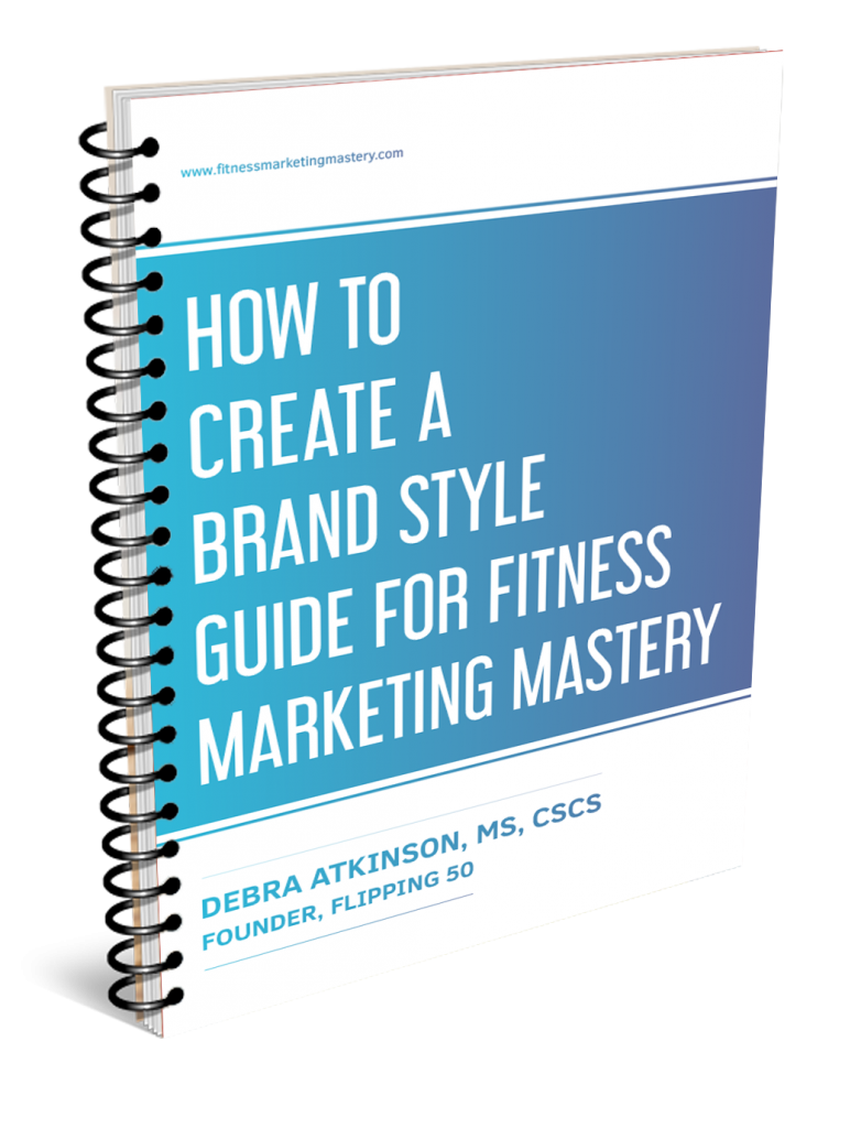 Facebook fitness marketing style guide